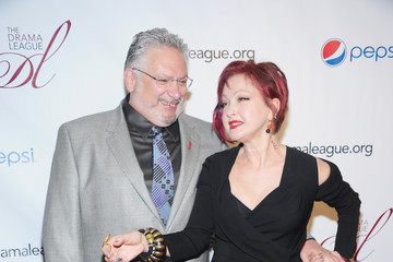 Cyndi Lauper Harvey Fierstein Arrivals at the Drama League Awards Ceremony