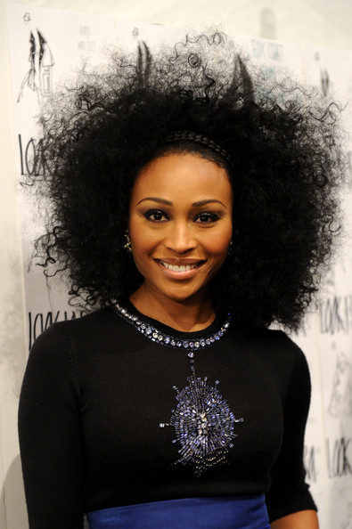 Cynthia Bailey - Zang Toi - Backstage - Fall 2012 Mercedes-Benz Fashion Week