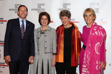 Cynthia Blumenthal Arrivals at the Center for Reproductive Rights Gala