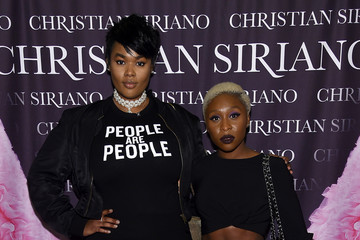"Cynthia Erivo Christian Siriano Celebrates The Release Of His Book ""Dresses To Dream About"" At The Rizzoli Flagship Store In New York"