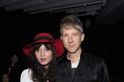 "Irina Lazareanu and Jefferson Hack attend the DAZED and Red Bull Studios New York Opening Of ""Scenario In The Shade"" Hosted By Jefferson Hack, Jonah Freeman, Justin Lowe, And Jennifer Herrema at Red Bull Studios New York on September 10, 2015 in New York City."