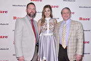 Will Alford, Sadie Robertson and Leon Levitt attend the inaugural DC RARE Under 40 Awards at Hotel Palomar on April 16, 2016 in Washington, DC.