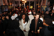 "Nana Ghana (L) and Daryl Wein attend the ""White Rabbit"" cocktail  at DIRECTV Lodge presented by AT&T during Sundance Film Festival 2018 on January 19, 2018 in Park City, Utah."