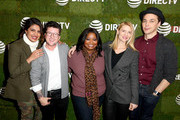 (L-R) Priyanka Chopra, Silas Howard, Octavia Spencer, Claire Danes, and Jim Parsons stop by DIRECTV Lodge presented by AT&T during Sundance Film Festival 2018 on January 21, 2018 in Park City, Utah.