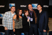 (L-R) Chris Manzo, Lauren Manzo, Caroline Manzo, Albert Manzo, and Albie Manzo attend DIRECTV's Sixth Annual Celebrity Beach Bowl After Party at Victory Field on February 4, 2012 in Indianapolis, Indiana.
