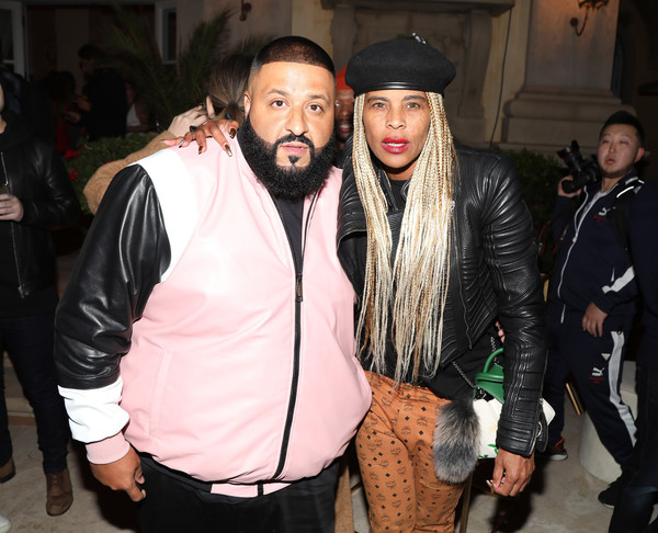 Ciroc Celebrates DJ Khaled's Birthday in Beverly Hills [facial hair,fashion,event,beard,cool,outerwear,leather jacket,textile,jacket,leather,ciroc celebrates dj khaled,cast,fergie,sean diddy combs,laurieann gibson,meghan trainor host,beverly hills,california,the four,birthday]
