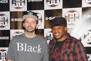 DJ Wonder Celebs at the G-Shock Event in NYC
