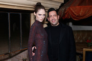Coco Rocha and James Conran attend the DKMS dinner at Casa La Femme on February 12, 2020 in New York City.