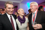 Guenther Oettinger and Friederike Beyer Photos Photo