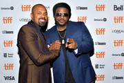 Mike Epps and Craig Robinson attend the world premiere of 'DOLEMITE IS MY NAME' at The Princess of Wales Theatre on September 07, 2019 in Toronto, Canada.