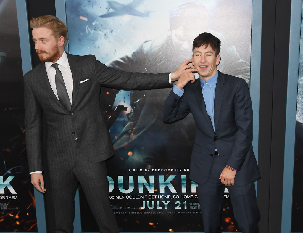 Mark Rylance Barry Keoghan Jack Lowden Jack Lowden Photos Dunkirk New York Premiere Zimbio