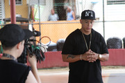 Daddy Yankee Films a Music Campaign