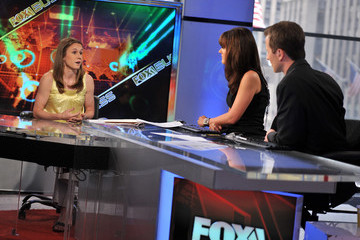 Dagen McDowell Heather O'Reilly Visits FOX Business