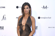 Elisabetta Canalis attends The Daily Front Row's 5th Annual Fashion Los Angeles Awards at Bevserly Hills Hotel on March 17, 2019 in Beverly Hills, California.