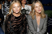 Kate Moss and Cecilia Bonstrom attend The Daily Front Row's 7th annual Fashion Media Awards on September 05, 2019 in New York City.