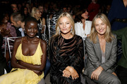 Adut Akeck, Kate Moss and Cecilia Bonstrom attend The Daily Front Row's 7th annual Fashion Media Awards on September 05, 2019 in New York City.