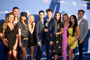 Jax Taylor, Brittany Cartwright, Lala Kent, Ariana Maddix, Tom Sandoval, Katie Maloney-Schwartz, Stassi Schroeder, Scheana Shay and James Kennedy attend the DailyMail.com & DailyMailTV Summer Party at Tom Tom on July 11, 2018 in West Hollywood, California.