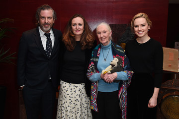 Daisy Ridley Porter Magazine Hosts Incredible Women Talk Evening With Dr. Jane Goodall