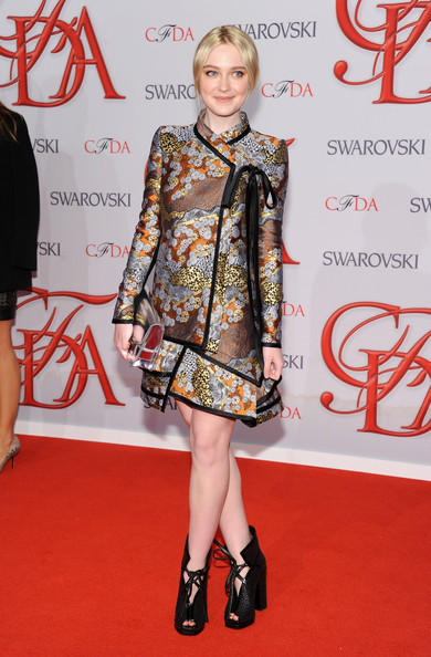 Dakota Fanning - 2012 CFDA Fashion Awards - Arrivals