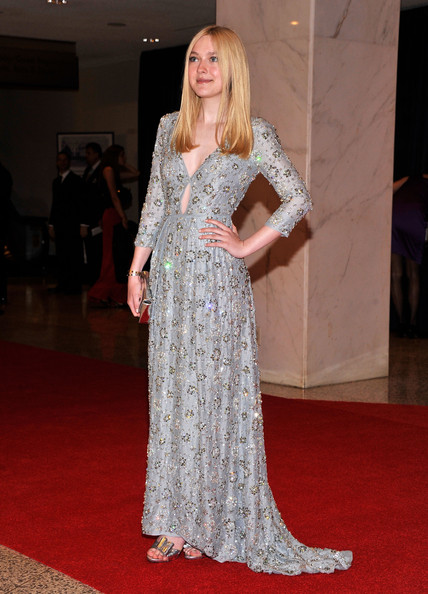 Dakota Fanning - 2012 White House Correspondents' Association Dinner - Red Carpet