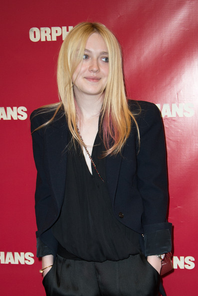 "Dakota Fanning Dakota Fanning attends the ""Orphans"" Broadway opening night at the Gerald Schoenfeld Theatre on April 18, 2013 in New York City."