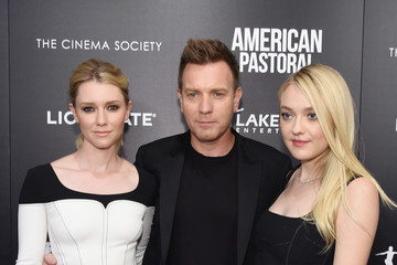 Dakota Fanning Ewan McGregor Lionsgate and Lakeshore Entertainment With Bloomberg Pursuits Host a Screening of 'American Pastoral' - Arrivals