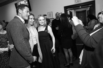 Dakota Fanning Luke Evans 'The Alienist' FYC Event