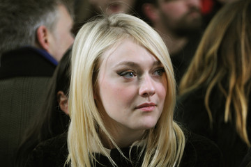 Dakota Fanning Proenza Schouler - Front Row - Mercedes-Benz Fashion Week Fall 2014