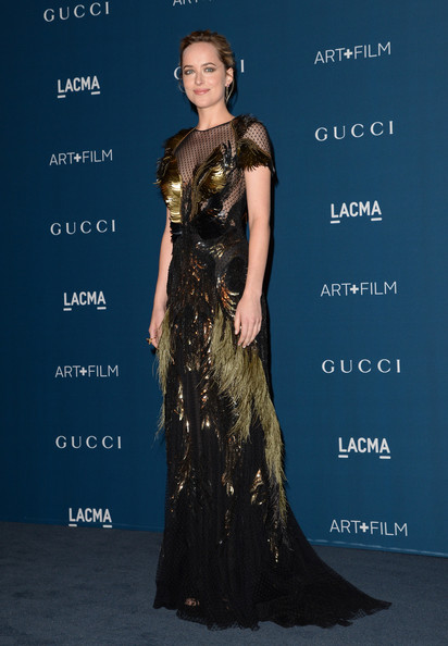 Dakota Johnson - LACMA 2013 Art + Film Gala Honoring Martin Scorsese And David Hockney Presented By Gucci - Red Carpet