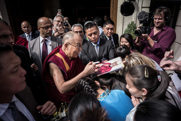 Dalai Lama The Dalai Lama Visits Paris for the First Time in Five Years