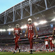 Larry Fitzgerald and Steve Breaston Photos