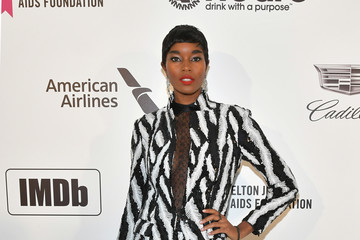 Damaris Lewis 27th Annual Elton John AIDS Foundation Academy Awards Viewing Party Celebrating EJAF And The 91st Academy Awards - Arrivals