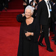 """Dame Judi Dench World Premiere Of """"NO TIME TO DIE"""" - Red Carpet"""