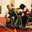 Dame Kelly Holmes Invictus Games: Exhibition Wheelchair Rugby Training