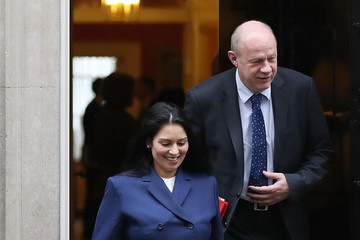 Damian Green Government Ministers Attend Pre-Budget Cabinet
