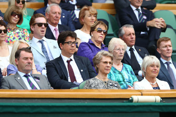 Damian Lewis Day Eleven: The Championships - Wimbledon 2018