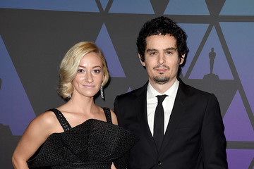 Damien Chazelle Olivia Hamilton Academy Of Motion Picture Arts And Sciences' 10th Annual Governors Awards - Arrivals