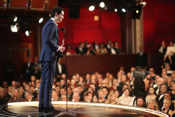 Damien Chazelle 89th Annual Academy Awards - Backstage
