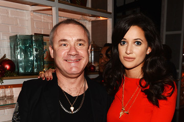 Damien Hirst Aby Rosen & Samantha Boardman Dinner at The Dutch