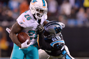 Damien Williams Miami Dolphins v Carolina Panthers