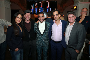 Dan Cogan Bryan Fogel 'Icarus' Filmmakers Host Olympic Opening Ceremony Viewing Party
