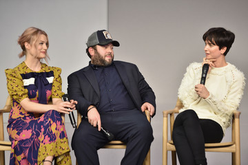 Dan Fogler Katherine Waterston Apple Store Soho Presents Meet the Cast: 'Fantastic Beasts and Where to Find Them'