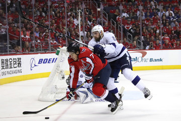 Dan Girardi Tampa Bay Lightning Vs. Washington Capitals - Game Three