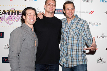 Dan Gronkowski Tenth Annual Leather & Laces Hosted by Jamie Chung, Rachael Leigh Cook, Brooklyn Decker, Josh Henderson