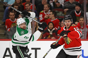 Dan Hamhuis Dallas Stars v Chicago Blackhawks