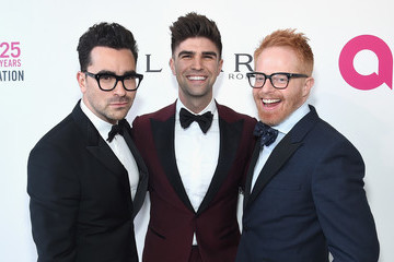 Dan Levy 26th Annual Elton John AIDS Foundation Academy Awards Viewing Party sponsored by Bulgari, celebrating EJAF and the 90th Academy Awards - Red Carpet