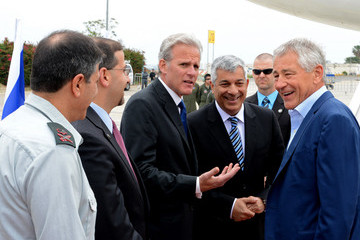 Dan Shapiro U.S. Defense Secretary Hagel Makes First Trip To Mideast In New Role