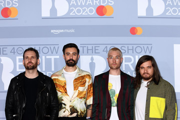 Dan Smith Chris 'Woody' Wood The BRIT Awards 2020 - Red Carpet Arrivals