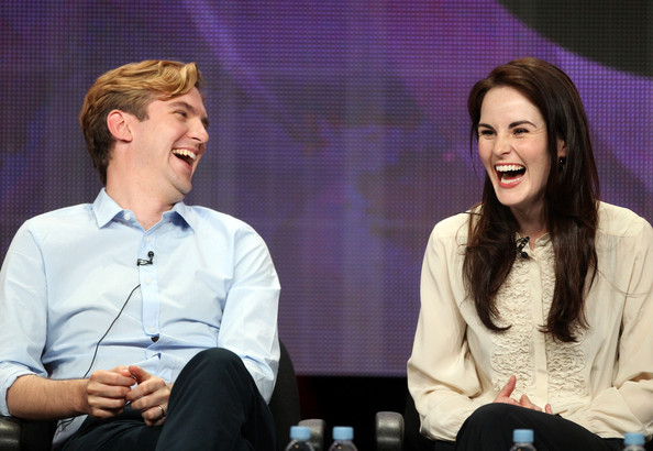 Dan Stevens on Downton Abbey and new film Night at the ...  Michelle Dockery And Dan Stevens Married
