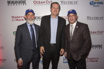 Dan Uslan Michigan Avenue Magazine Late Spring Cover Celebration With Joe Maddon Presented by Wintrust at Ocean Cut